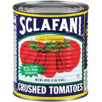Sclafani crushed tomatoes